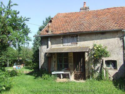 Te renoveren dorpswoning met tuin, Haute Marne, Frankrijk