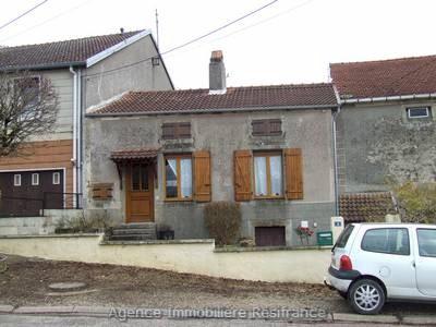 Klein dorpshuis met tuin, Haute-Marne, Frankrijk