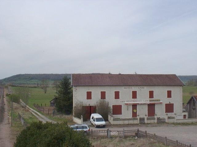 Hotel de la Gare, Haute Marne, Frankrijk