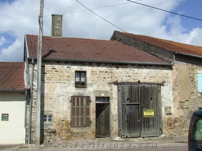 Te renoveren boerderij, Haute-Marne, Frankrijk