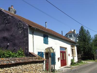 Charmante vrijstaande dorpswoning, Haute Marne, Frankrijk