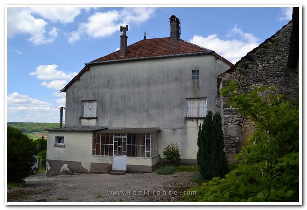 Boerderij met dépendances en fantastisch uitzicht, Haute-Saone, Frankrijk