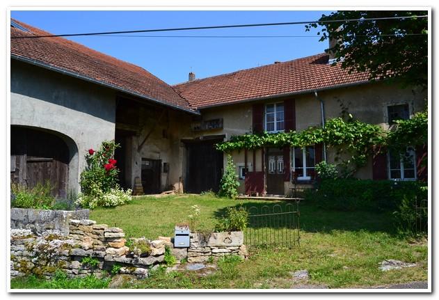 Zeer charmante woonboerderij met schitterend uitzicht, Haute-Saone, Frankrijk