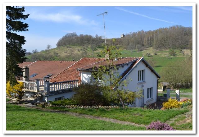 Dorpswoning met ruime tuin en zeer mooi uitzicht, Haute-Marne, Frankrijk