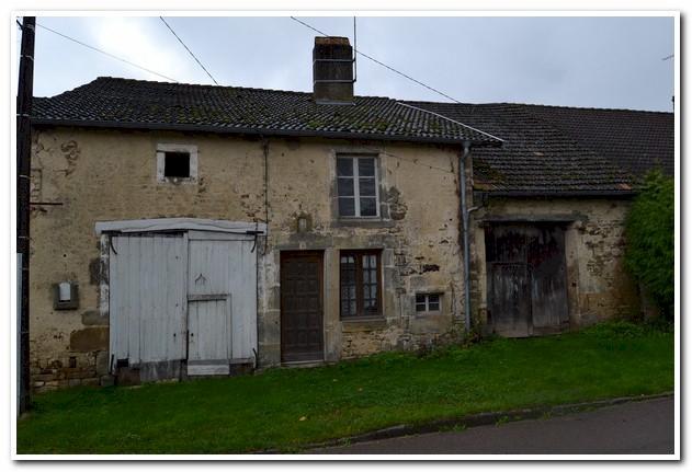 Te renoveren dorpswoning met grote tuin en schitterend uitzicht, Haute-Marne, Frankrijk