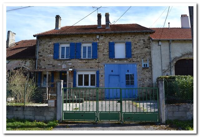 Mooi natuurstenen huis met uitzicht, Haute-Marne, Frankrijk