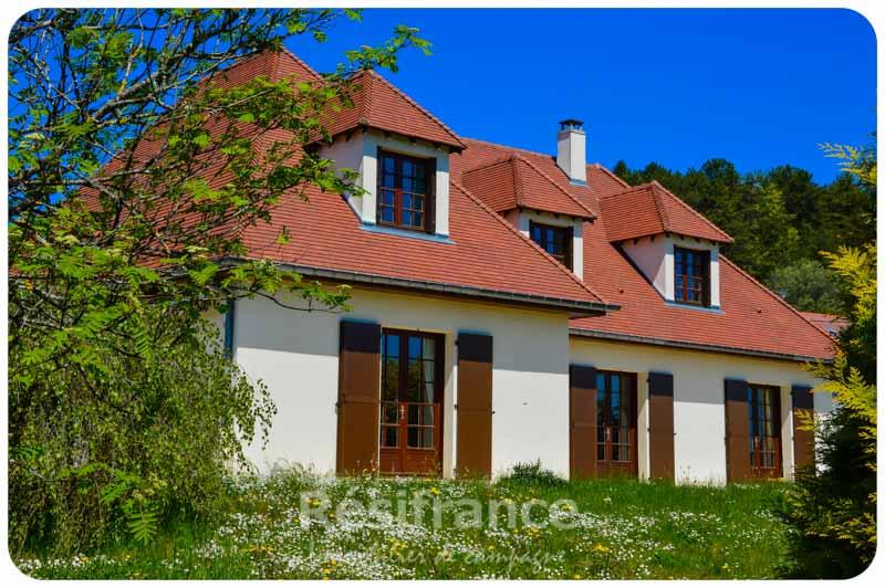 Vrijstaande villa met schitterend uitzicht, Haute-Marne, Frankrijk