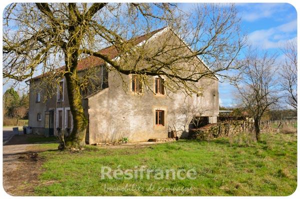 Gerenoveerde dorpsboerderij met schitterend uitzicht, Haute-Marne, Frankrijk