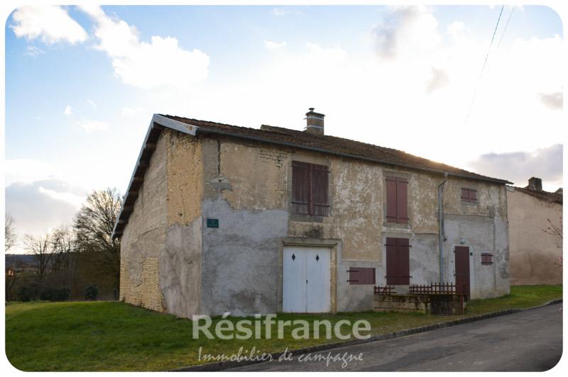 Vrijstaande dorpswoning met mooi terrein, Haute-Marne, Frankrijk