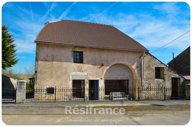 Vrijstaand woonhuis met zonnige tuin, Haute-Saone, Frankrijk