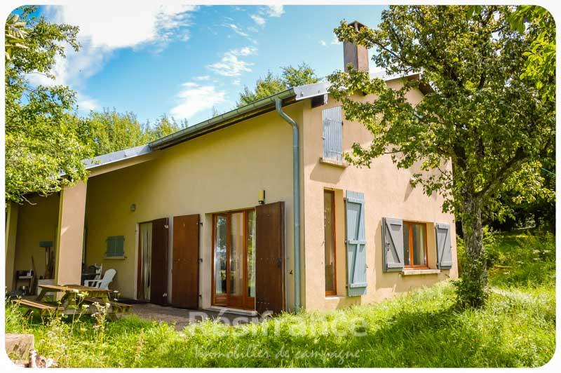 Rustig gelegen vrijstaand landhuis met terrein, Haute-Saone, Frankrijk