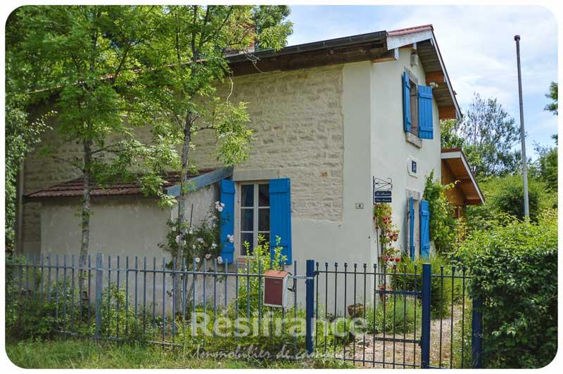 Vrij gelegen spoorweghuisje met ruime tuin, Haute-Saone, Frankrijk