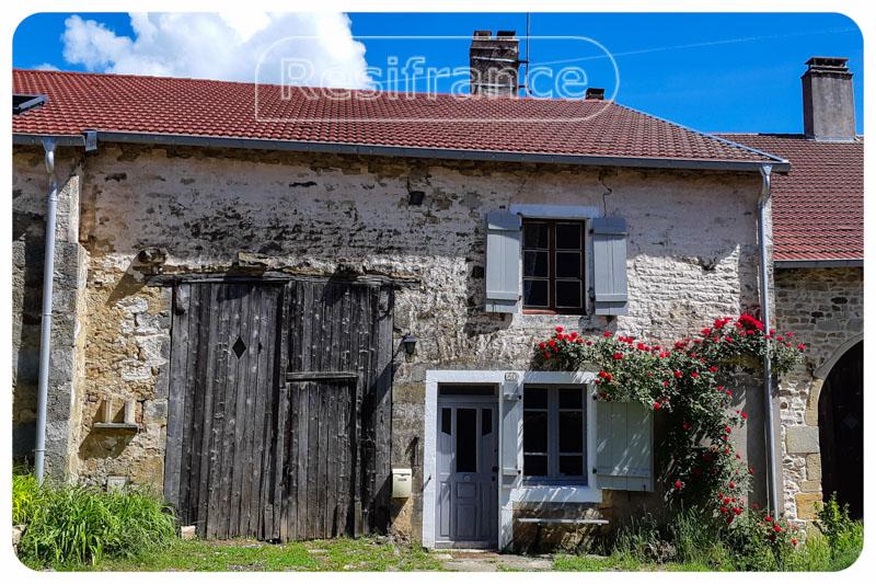 Charmante dorpswoning met tuin en uitzicht in mooi dorpje, Haute-Marne, Frankrijk