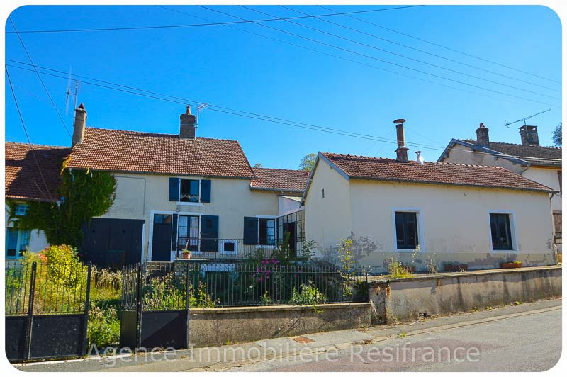 Charmante dorpswoning met ruime cour en tuin met uitzicht, Haute-Marne, Frankrijk