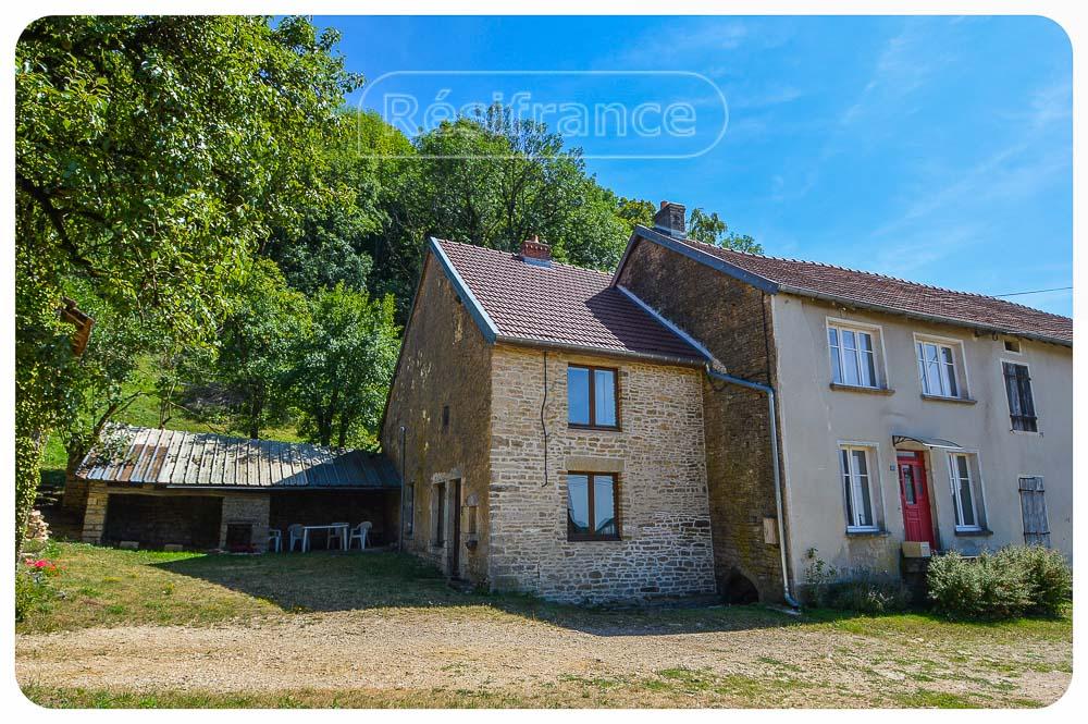 Gerenoveerde dorpswoning met schitterend uitzicht, Haute-Saone, Frankrijk